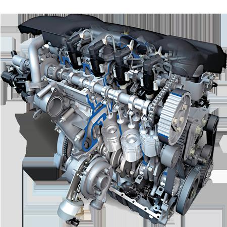 Комплексный ремонт двигателей